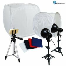 "LimoStudio Photo Photography Light Tent Backdrop Kit Lighting In A Box 30""12"""