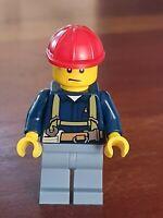 LEGO City Personnage minifig ouvrier batiment