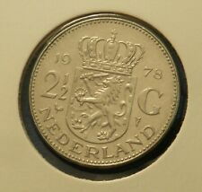 1978 Netherlands 2 1/2 Gulden - Great Coin - See PICS