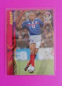 Panini World Cup 2002 Korea/Japan #62 - 🔥 THIERRY HENRY 🔥France
