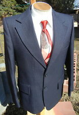 New listing Vintage Chalkstripe Sport Coat Blazer 42R - 1970s Jc Penney Jacket