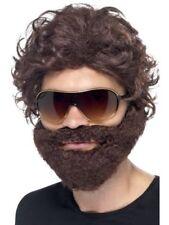 Parrucche e barbe in poliestere per carnevale e teatro, alla TV, libri e film