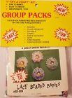 Lacy Beaded Babies Refrigerator Magnet Group Beading Craft Kit Vintage Merri Mac