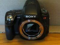 55mm Super Fish Eye 0.18x,Macro Kit for Sony Alpha SLT A37 A57 A77 A65 A55 A35