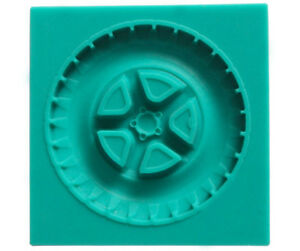 3D Silicone Car Tyre Chocolate Sugarcraft Mould Cake Decor Topper Baking UK