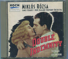 New listing Double Indemnity by Miklos Rozsa Cd Soundtrack The Killers / Lost Weekend