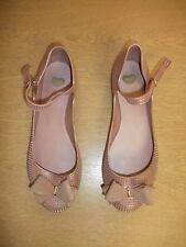 Ladies Shoes Mel powder pink metallic plastic, UK 7/8 EU 41/42, ankle strap 3435
