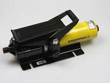 ENERPAC PA-133 Lufthydraulische Hydraulikpumpe Einkolbenpumpe 700 bar Fußpedal