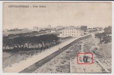 CASTIGLIONCELLO ROSIGNANO LIVORNO TRENO - LOCOMOTIVA DA CANTIERE 1909 BELLA !