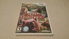Cabela's Big Game Hunter 2012 (Nintendo Wii) COMPLETE