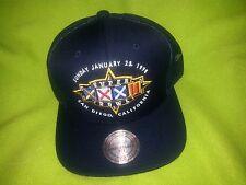 Super Bowl XXXII Mitchell & Ness Broncos vs Packers Mesh Adjustable Snapback hat