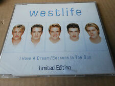 WESTLIFE  CD single I HAVE A DREAM  with  case and  protective polythene 3 TRACK