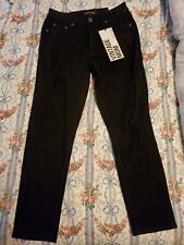 Almost Famous Vintage Mom Size 5 Black