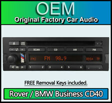 Rover BMW Business CD43 radio stereo, Blaupunkt 7640273643 CD player with Code