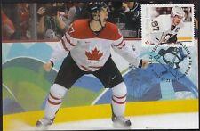 CANADA # 2942.02 - SID CROSBY HOCKEY STAMP on MAXIMUM CARD