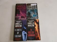 4 LAURELL K HAMILTON # MEREDITH MERRY GENTRY SHADOWS TWILIGHT MIDNIGHT FROST