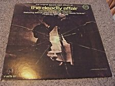 The Deadly Affair VERVE V-8679 ST MONO LP ASTRUD GILBERTO VAN GELDER PRESS CLEAN