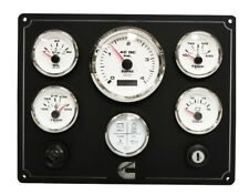 CUMMINS 6B, 6BT, 6BTA Marine Diesel  instrument Fully wired 100% USA Made
