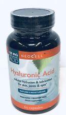 Neocell Hyaluronic Acid 100mg, Nature's Moisturier, 60 Caps exp 2020+ 6646