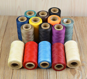 260m Waxed thread slipping twine upholstery leather craft thread 1mm hand sewing