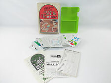 Mille Bornes Parker Brothers French Card Game Complete Box 1971 Vintage