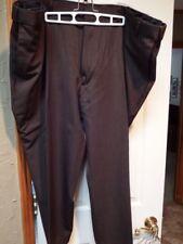 """Men's Dress Slacks Botany 500 50 XS 50XS 26"""" inseam stretch side Brown RGP05"""