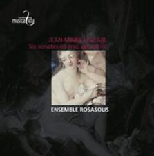 Jean-Marie Leclair: Six Sonates en Trio, ouvre 4 (CD, Mar-2014, Musica Ficta)