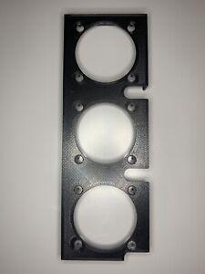 NZXT H1 40mm 3D Printed Bracket, Triple Fan Support Bracket for Exhaust