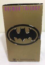 Batman VHS Movies Box Set Of 3 Featuring Batman Batman Returns Batman Forever