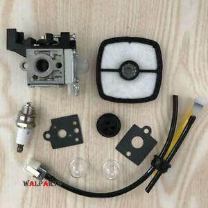 Carburetor Air Filter Fuel Line Kit for Echo SRM-225 GT-225 PAS-225 Zama RB-K93