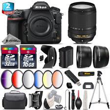 Nikon D850 DSLR Camera + AFS 18-140mm VR + 6PC Graduated Filter - 48GB Bundle