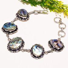 Abalone Shell Gemstone Handmade Ethnic Fashion Jewelry Bracelet SB1555