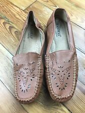 Rasolli Comfort Womens Leather Shoes Size 7.5