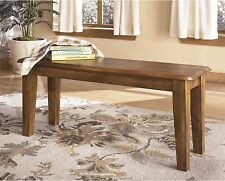 Rustic Wood Bench Dining Room Furniture Home Wooden Hallway Entryway Seating