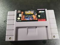 WF Wrestle Mania The Arcade Game Super Nintendo