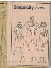 6225 VINTAGE Simplicity Sewing Pattern Girl's Pleated Skirt Blouse Jacket Size 8