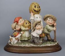 "Rare Giuseppe Armani Figurine ""Our Gang"" Mint WorldWide"