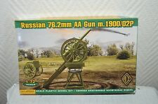 Maquette  ace canon russe russian aa gun m 1900/02p model kit neuf