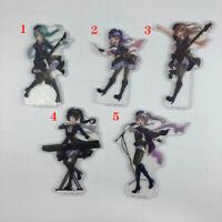 BanG Dream! Acrylic Anime Keychain Key Ring Race Straps Cosplay