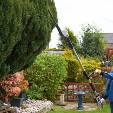 Pole Hedge Trimmer 20V Cordless Long Extendable Cutter Garden Trees Branches