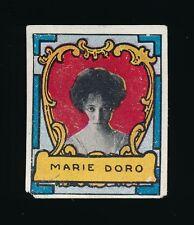 1911 T332 Helmar Cigarettes ACTRESS STAMPS -Marie Doro (heart border)