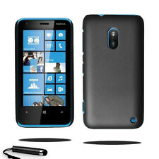 For Nokia Lumia 620 Armour Hard Shell Case Back Cover + Screen Guard + Stylus