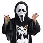 Unisex Ghost Face Scream Mask Creepy Halloween Masquerade Party Costume