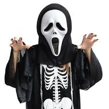 Hot Ghost Face Scream Mask Creepy for Halloween Masquerade Party Dress Costume