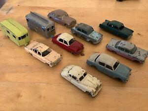 Matchbox Lesney Series Saloon Car Lot Zodiac Cresta Minx Jaguar Ford X10