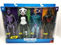 """Epic Games Fortnite Squad Mode Victory Series 12"""" Posable 4 Pack Action Figures"""