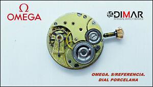 Bewegung Omega.sin Bezug Zifferblatt Porzellan. Diametro.dial 29.66mm