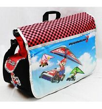 Nintendo Super Mario Bros. MARIO KART  Large Messenger Diaper Computer Bag