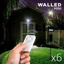 Luces de pared y techo de jardín blancos