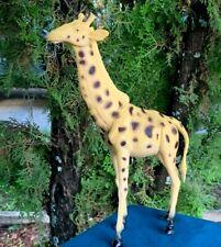 "Boley Beautifully Detailed African Giraffe Safari Animal 8"" Pvc Plastic Figure"